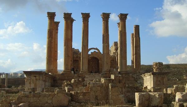 Artemis-Tempel in Jerasch