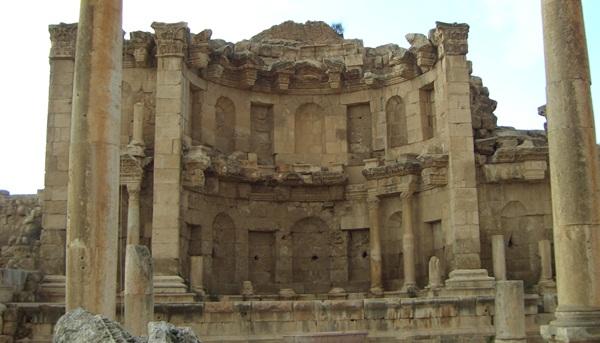 Nymphäum in Jerasch - das antike Gerasa