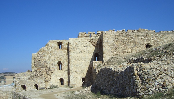 Karak - Kreuzfahrerburg in Jordanien