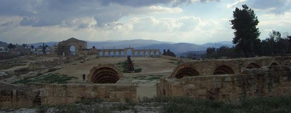 Das Hippodrom von Jerasch