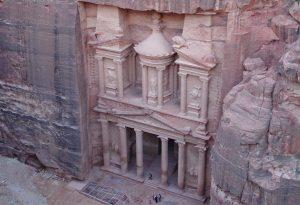 Khazne Firaun - das Schatzhaus des Pharao in Petra