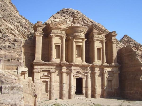 ad-Deir - Petra in Jordanien