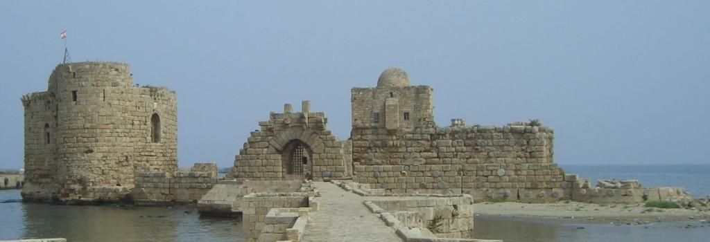 Kreuzfahrerfestung in Sidon