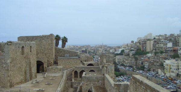 Tripoli - Blick von der Kreuzfahrerfestung Mons Peregrinus