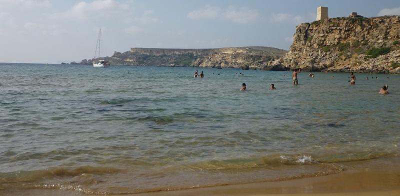 Malta Ghain Tufieha Bay