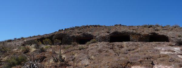 Cuatro Puertas Höhlen komplett