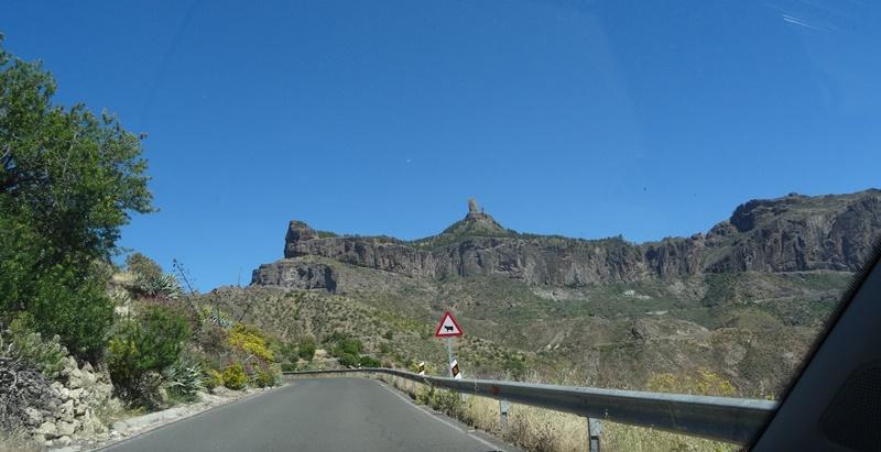 Gran Canaria Auto fahren Roque Nublo