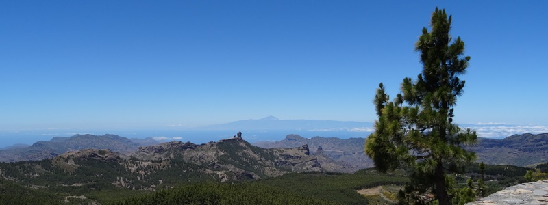 Gran Canaria Roque Nublo vom Pico de las Nieves