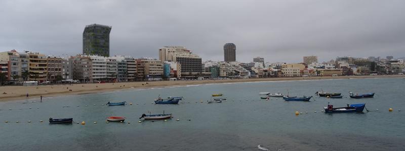 Las Palmas Las Canteras Panorama Strand