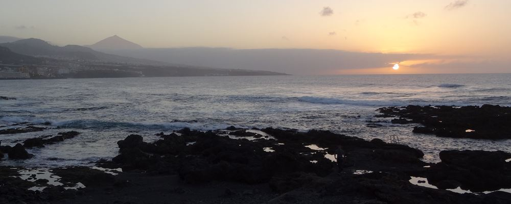 Teneriffa Anaga Teide Sonnenuntergang