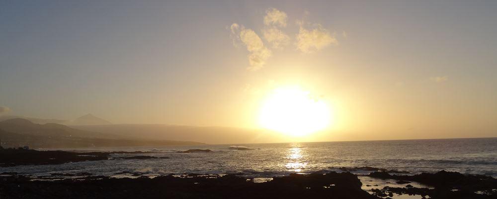 Teneriffa Teide Sonenuntergang