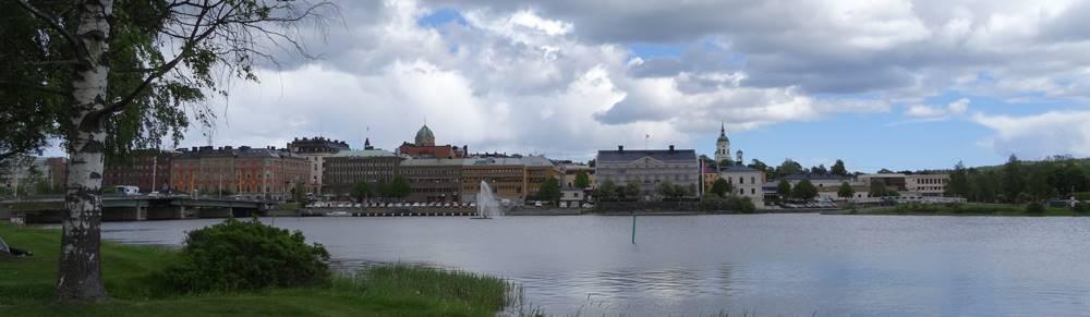 Härnösand Schweden Panorama