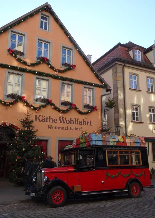 Rothenburg ob der Tauber Käthe Wohlfahrt Weihnachtsdorf mit Express