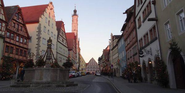 rothenburg ob der tauber weihnachtsmarkt