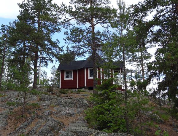 Vättaberget Schutzhütte Schweden