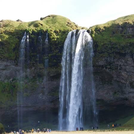 Seljalandsfoss Island Wasserfall