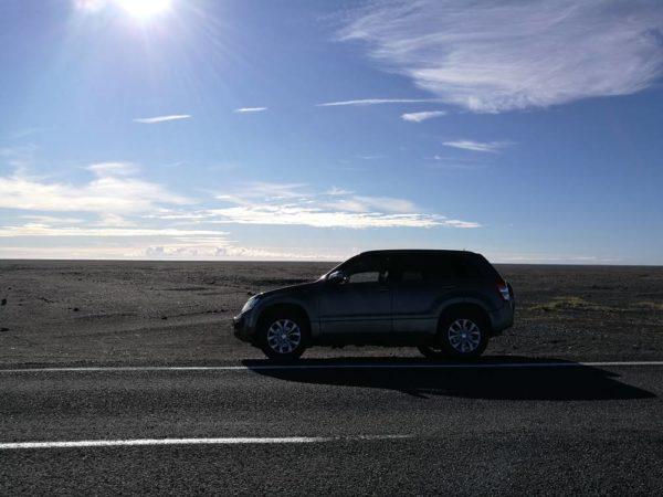 Auto fahren auf Island mit dem Mietwagen