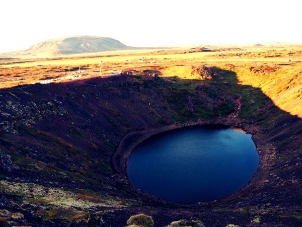 Kerid – Vulkankrater-Kleinod auf Island